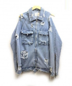 askyurself(アスクユアセルフ)の古着「Vintage Raglan Denim Jacket」|インディゴ