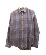 N.HOOLYWOOD(エヌハリウッド)の古着「チェックシャツ」 ブラウン