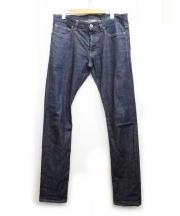 LIDEAL(リデアル)の古着「Prismデニムパンツ」|ブラック