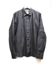 agnes b homme(アニエスベーオム)の古着「長袖シャツ」|チャコールグレー