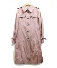 BURBERRY LONDON(バーバリーロンドン)の古着「トレンチコート」|ピンク