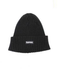 Supreme(シュプリーム)の古着「Overdyed Ribbed BOX Beanie」|ブラック