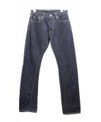 eight-g(エイトジー)の古着「セルビッジデニム」|インディゴ
