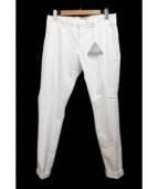lideal(リディアル)の古着「トラウザーパンツ」|ホワイト