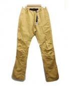 GRAMICCI(グラミチ)の古着「クライミングパンツ」|イエロー