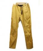GRAMICCI(グラミチ)の古着「クライミングパンツ」|マスタード
