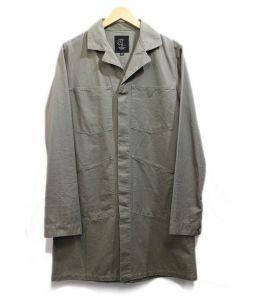 HALFMAN(ハーフマン)の古着「ミリタリージャケット」|カーキ