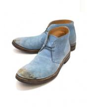 Martin Margiela22(マルタンマルジェラ22)の古着「チャッカーブーツ」|ブルー