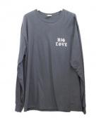 big love(ビッグラブ)の古着「Cluture Central L/S TEE」|ブラック