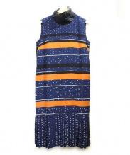 AKIRA NAKA(アキラナカ)の古着「【Lenka】ワンピース」|ネイビー