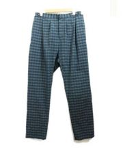 UMIT BENAN(ウミット ベナン)の古着「トラウザーパンツ」 グリーン