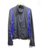 agnes b homme(アニエスベーオム)の古着「ナイロンジャケット」|ブルー×グレー