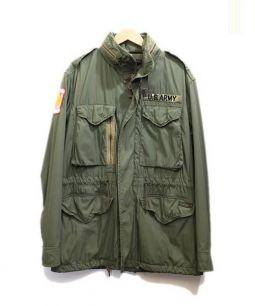 POLO RALPH LAUREN(ポロ・ラルフローレン)の古着「ミリタリージャケット」|カーキ