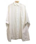 YAECA(ヤエカ)の古着「ポンチョ風シャツ」