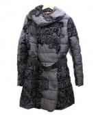 Desigual(デシグアル)の古着「中綿コート」|グレー