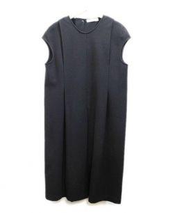 JIL SANDER(ジルサンダー)の古着「ウールワンピース」|ブラック