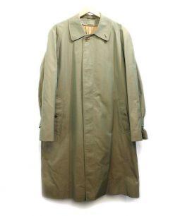 Burberrys(バーバリーズ)の古着「ステンカラーコート」 玉虫色