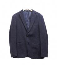 ETRO(エトロ)の古着「ペイズリーウールジャケット」 ネイビー