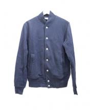 LOOPWHEELER(ループウィラー)の古着「スウェットジャケット」|ネイビー