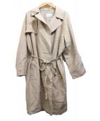 Phlannel(フランネル)の古着「ステンカラーコート」 ベージュ