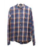 MARC JACOBS(マークジェイコブス)の古着「ネルシャツ」 ネイビー