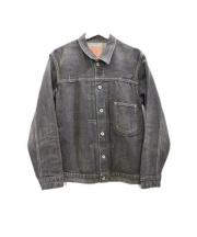 TENDERLOIN(テンダーロイン)の古着「ファーストタイプデニムジャケット」|ブラック