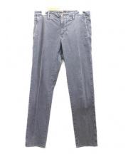 INCOTEX(インコテックス)の古着「ウォッシュ加工チノ」|グレー
