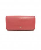 ANYA HINDMARCH(アニヤハインドマーチ)の古着「長財布」|ピンク
