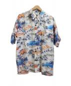 AVANTI(アヴァンティ)の古着「アロハシャツ」 ブルー