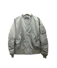 ALPHA(アルファ)の古着「MA-1ジャケット」 オリーブ