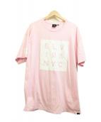 ELVIRA(エルビラ)の古着「プリントTシャツ」|ピンク