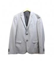 Blackbarrett(ブラックバレット)の古着「テーラードジャケット」 グレー