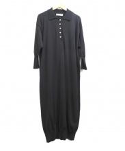 THE SHINZONE(ザ シンゾーン)の古着「ニットワンピース」|ブラック