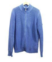 HUNTING WORLD(ハンティングワールド)の古着「ニットジャケット」|ブルー