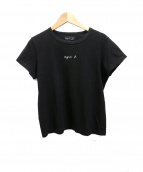 agnes b(アニエスベー)の古着「プリントTシャツ」|ブラック