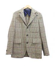 BOGLIOLI(ボリオリ)の古着「ウールジャケット」|カーキ
