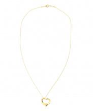 Tiffany & Co.(ティファニー アンド コー)の古着「オープンハートネックレス」 ゴールド
