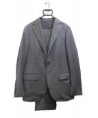 LUIGI BORRELLI(ルイジボレッリ)の古着「3Bスーツ」|グレー