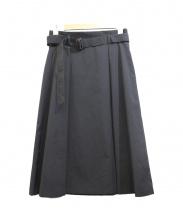UNTITLED(アンタイトル)の古着「ベルト付スカート」
