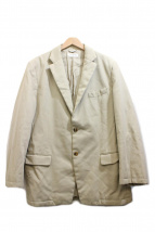 DRIES VAN NOTEN(ドリスヴァンノッテン)の古着「2Bジャケット」|ベージュ