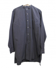 COMOLI(コモリ)の古着「バンドカラーシャツ」
