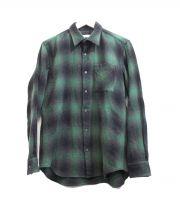 JOHN LAWRENCE SULLIVAN(ジョンローレンスサリバン)の古着「オンブレーチェックシャツ」