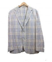 BOGLIOLI(ボリオリ)の古着「チェックジャケット」