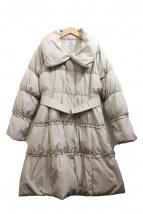 GALLERY VISCONTI(ギャラリービスコンティ)の古着「フリルダウンコート」
