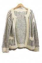 eimy istoire(エイミー イストワール)の古着「フェザーツイードライクニットジャケット」
