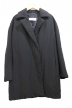 Max Mara(マックスマーラ)の古着「中綿チェスターコート」|ブラック