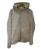 SNOWPEAK(スノーピーク)の古着「フレキシブルインサレーションフーディ」 ホワイト