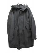 lideal(リディアル)の古着「モッズコート」|チャコールグレー