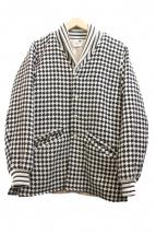 GANGSTERVILLE(ギャングスターヴィル)の古着「ウールジャケット」|アイボリー×ブラック