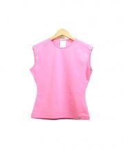CHANEL(シャネル)の古着「ノースリーブカットソー」|ピンク